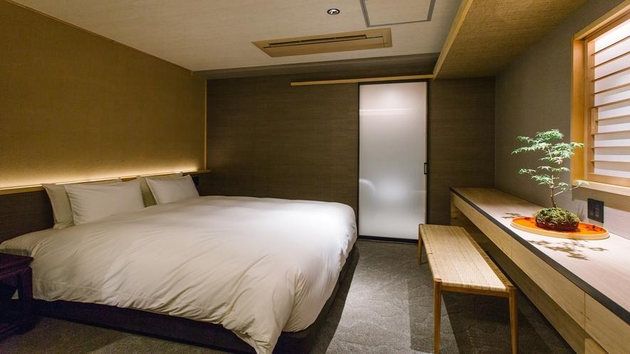 403号室 ジュニアスイート 忘筅 ベッドルーム