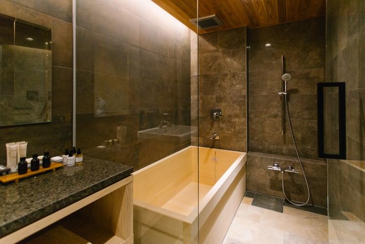 401号室 遠州 檜風呂