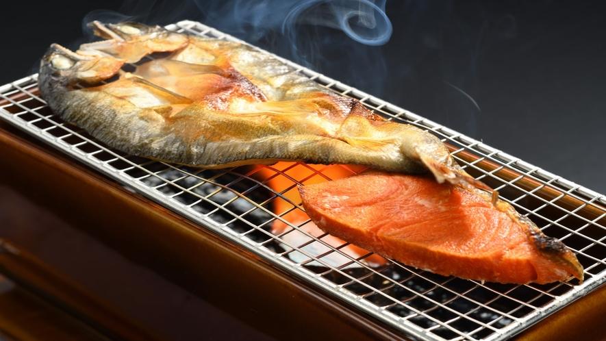 朝食「焼き魚」