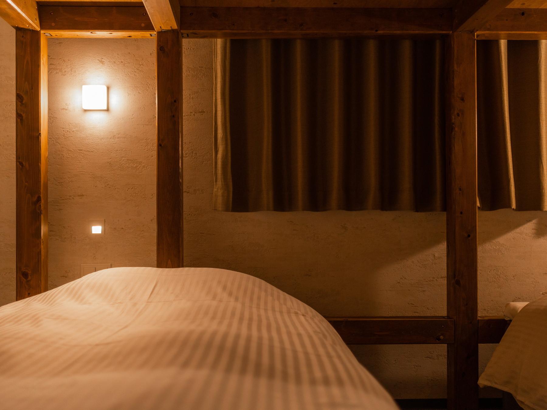 ふんわりきれいな寝具で快適な眠りを