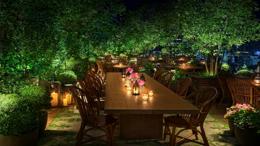 The Jade Room + Garden Terrace(2021年オープン予定)