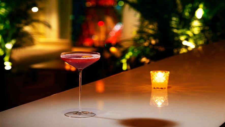Lobby Bar ドリンクの一例