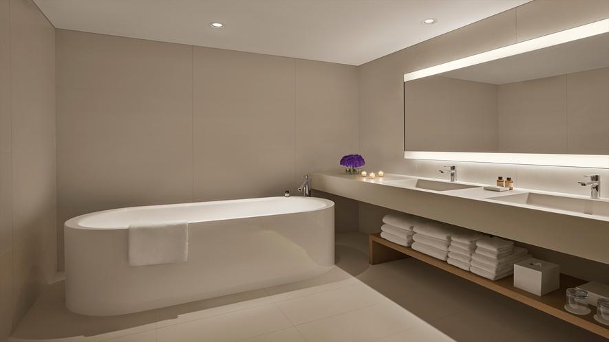 スーペリアスイート 70㎡(バスルームの一例)