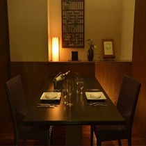 レストラングリルマイアミ 個室スペース