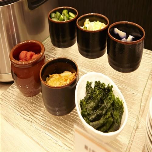 ◆朝食バイキング 漬物(イメージ)
