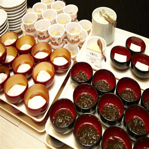 ◆朝食バイキング 小鉢(イメージ)