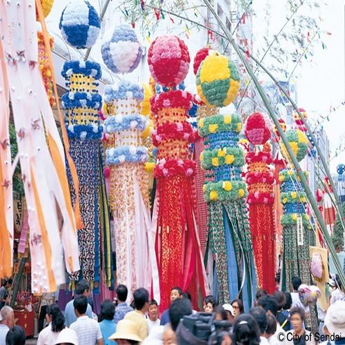 ◆東北三大祭りの仙台七夕!!毎年多くの観光者が来仙します。