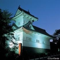 ◇仙台城跡。天守台跡からは100万都市仙台の素晴らしい眺望が望めます。