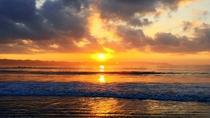 夕方の前原海岸②