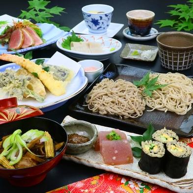 【蕎麦づくし】絶品蕎麦を心ゆくまで堪能♪福いちおすすめ贅沢コース -2食付-