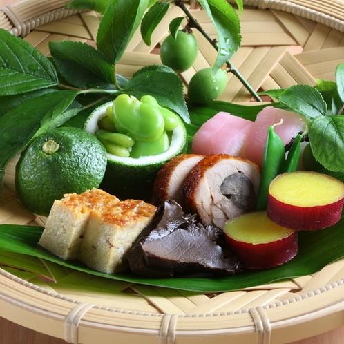 ●季節の前菜