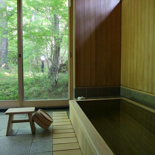 ●10畳+8畳(和・洋)+リビング A棟(1階) 「柚子」~内風呂~