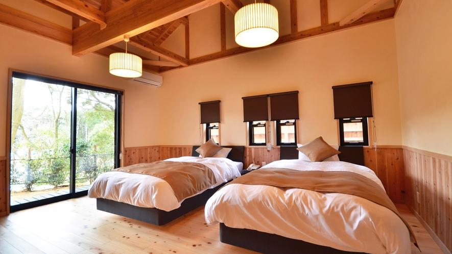 【特別室つわぶき】寝室