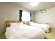 【寝室3】ダブルベッド ツインルーム