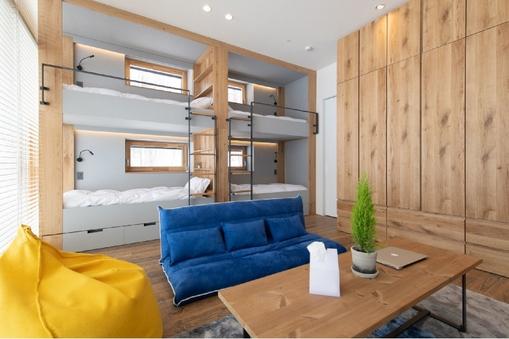 今の日本のデザインと北欧のテイストを掛け合わせた新築貸別荘