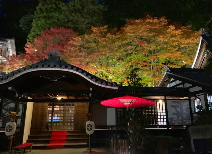 下呂が一望できる温泉寺徒歩8分♪ 秋は紅葉が綺麗です