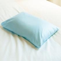 青色枕 ご家庭でそば殻などの枕をお使いの方や高い枕をお好みの方にお勧めです。