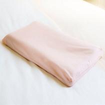 桃色枕 女性向きの枕。体圧を分散させ、血行を促し首や肩のコリをほぐします。
