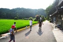 毎日開催のガイドツアー「里山散歩」