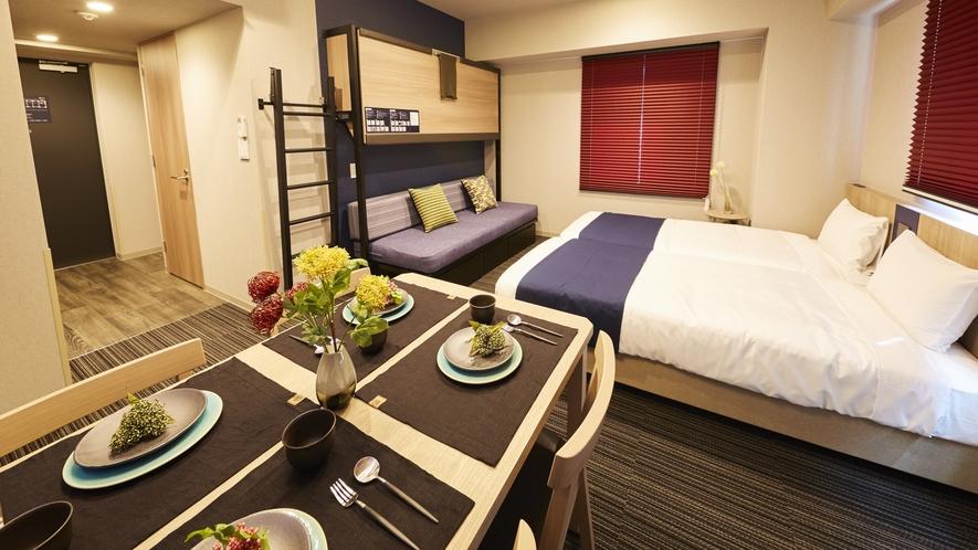暮らすようにお過ごしいただけるアパルトホテル