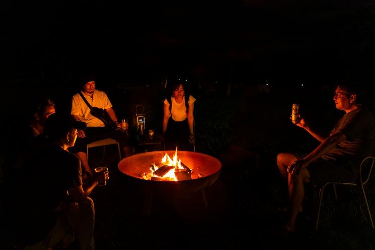 バーベキュー&焚き火