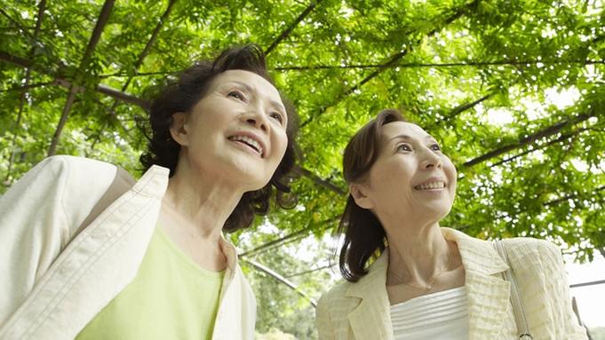 【50歳以上】大人の寛ぎ旅。平日限定で最大15%OFF!朝食付き