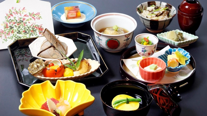 ■日本料理×お手ごろコース■庭園を眺めながら癒しの空間で日本料理を堪能