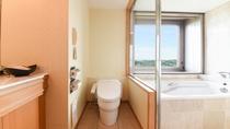 **【部屋(コーナーツイン)】全室ウォシュレットトイレを完備しております