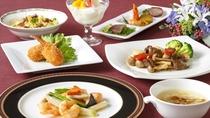 **【中国料理・お手ごろコース(一例)】落ち着いた雰囲気の空間で中国料理を堪能