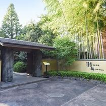 *【日本料理 車屋(一例)】駐車場から直接ご利用いただくこともできます