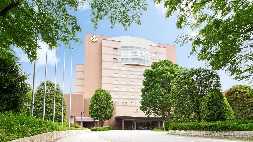 ** 【外観】自然と共存するリゾートホテルへようこそ
