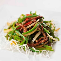 *【夕食・中国料理(一例)】季節によって旬のお料理をご提供いたします