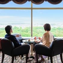 *【ラウンジ ダコタ(一例)】最上階からの景色は、他では見ることのできない絶景です