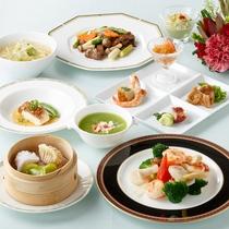 *【中国料理スタンダードコース(一例)】