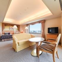 *【部屋(コーナーツイン)】自然のぬくもりに包み込まれる上質なお部屋で、優雅な時間をお過ごし下さい