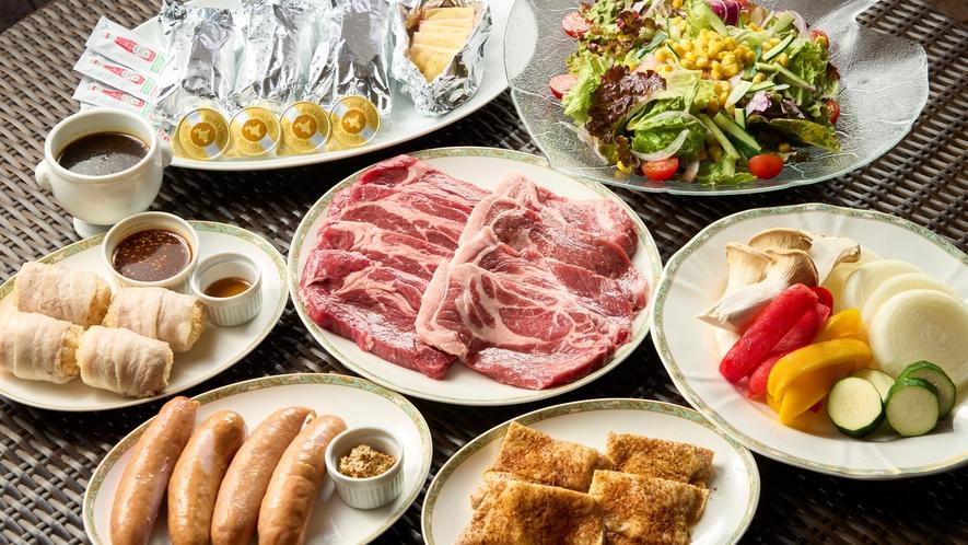 *【BBQ(一例)】いろんな食材を焼いて、みんなで楽しいひとときを!