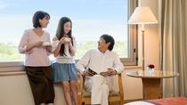 **【客室(一例)】開放的な客室で、普段よりも会話が弾みます