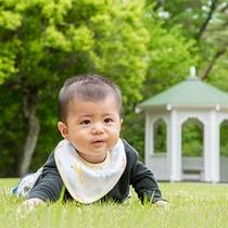 *【庭園】赤ちゃんとファーストステイ(イメージ)