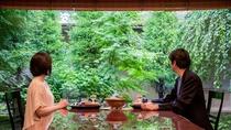 **【昭和の森 車屋(一例)】日本庭園を眺めながら、至福の会席料理を