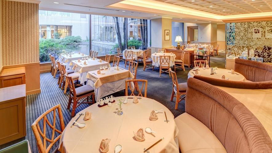 **【中国料理 花林(一例)】当館の庭園を眺めながら、中国料理の数々をお召し上がり下さい