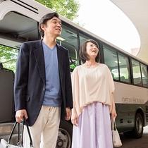 *【シャトルバス(一例)】昭島駅と当ホテル間は、無料のシャトルバスが運行しています