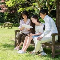 *【庭園(一例)】チェックアウト12時なので、朝食後に庭園もお散歩できます