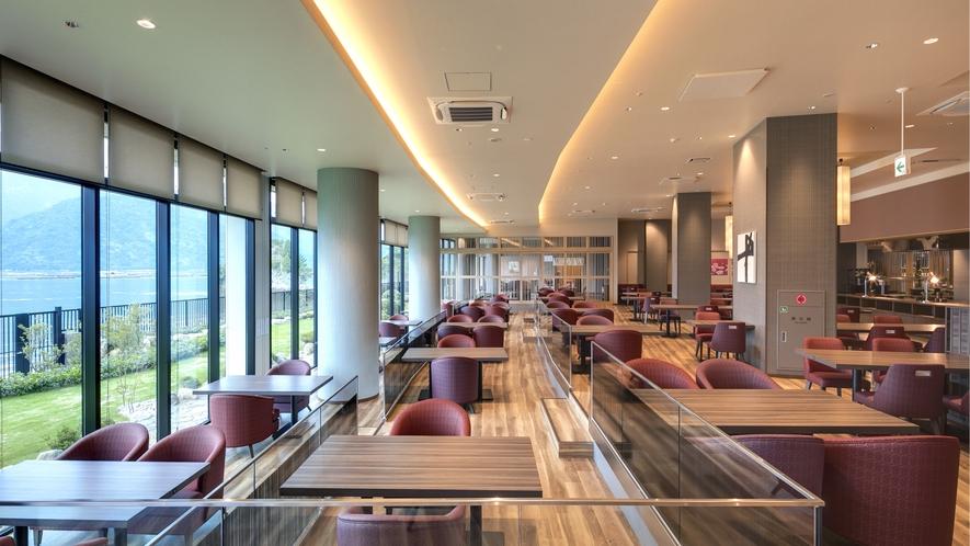 <レストラン>シーサイドダイニング「宮島八景」 席数218席(個室含む)
