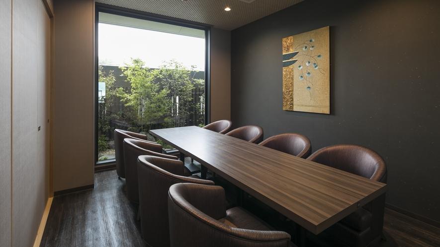 <レストラン>シーサイドダイニング「宮島八景」 個室(8席)