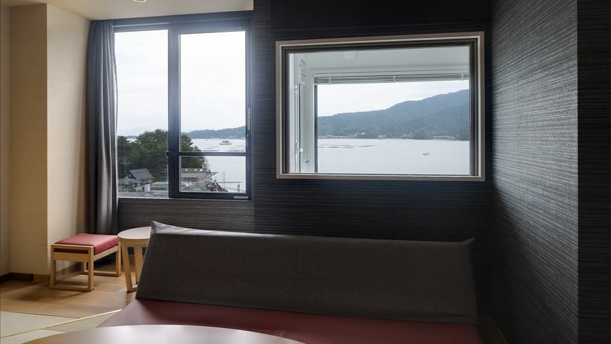 <客室>エグゼグティブツイン 客室からの海側の景色