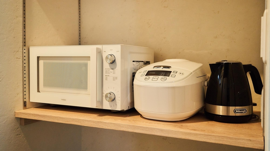 105_KonMari Style・電子レンジ・炊飯器・ケトル