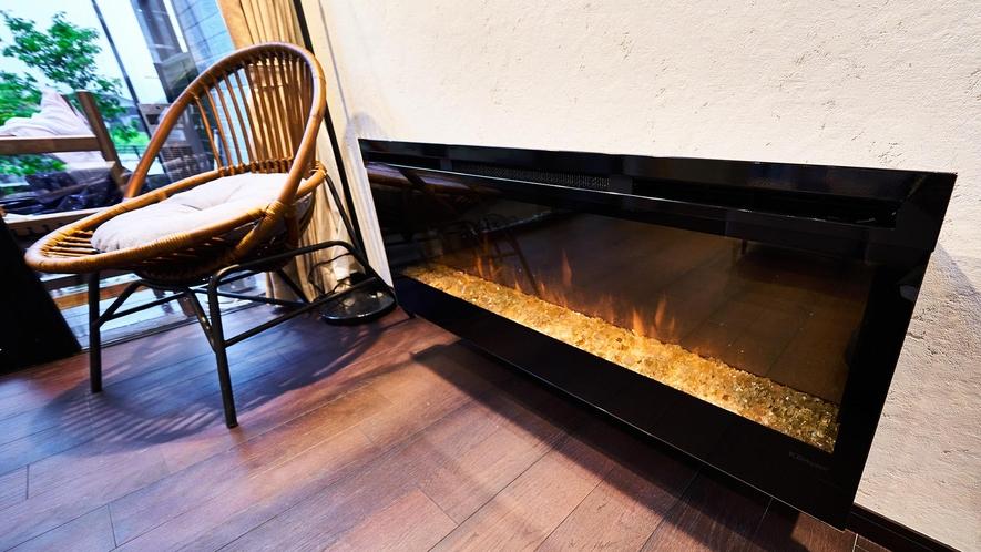 105_KonMari Style・暖炉