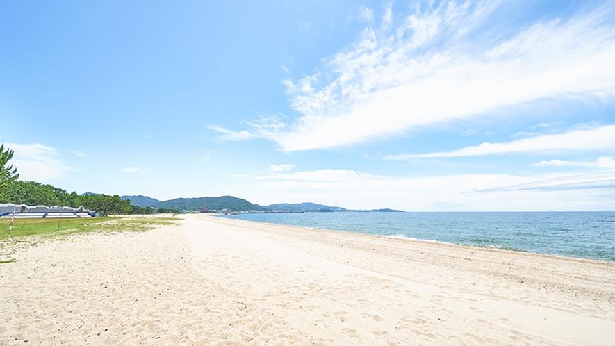 周辺・慶野松原海水浴場