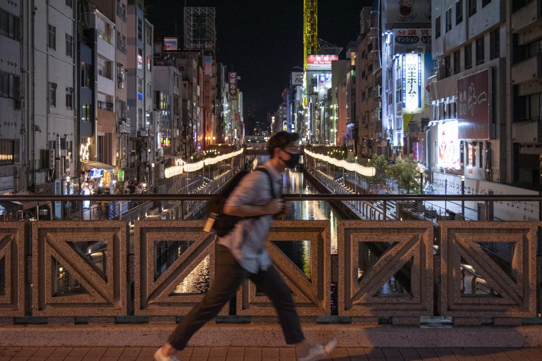夜は心斎橋の街を探索