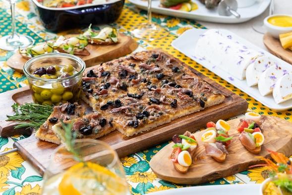 【Dinner Stay】南フランスのリゾート気分を味わう夏のディナー付きプラン(ワンドリンク付)